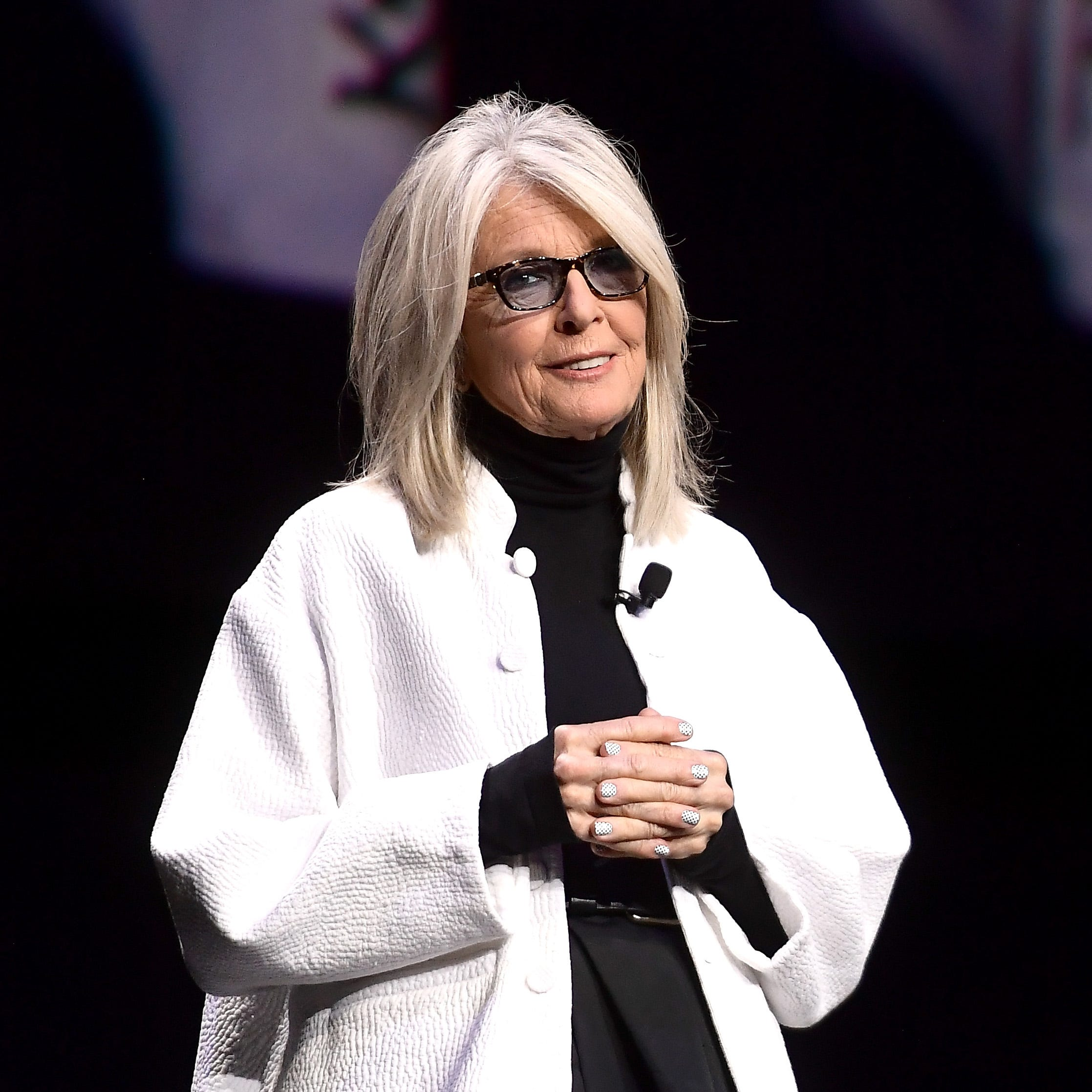 Diane Keaton wears oversized pants in Delaware and starts a fashion frenzy