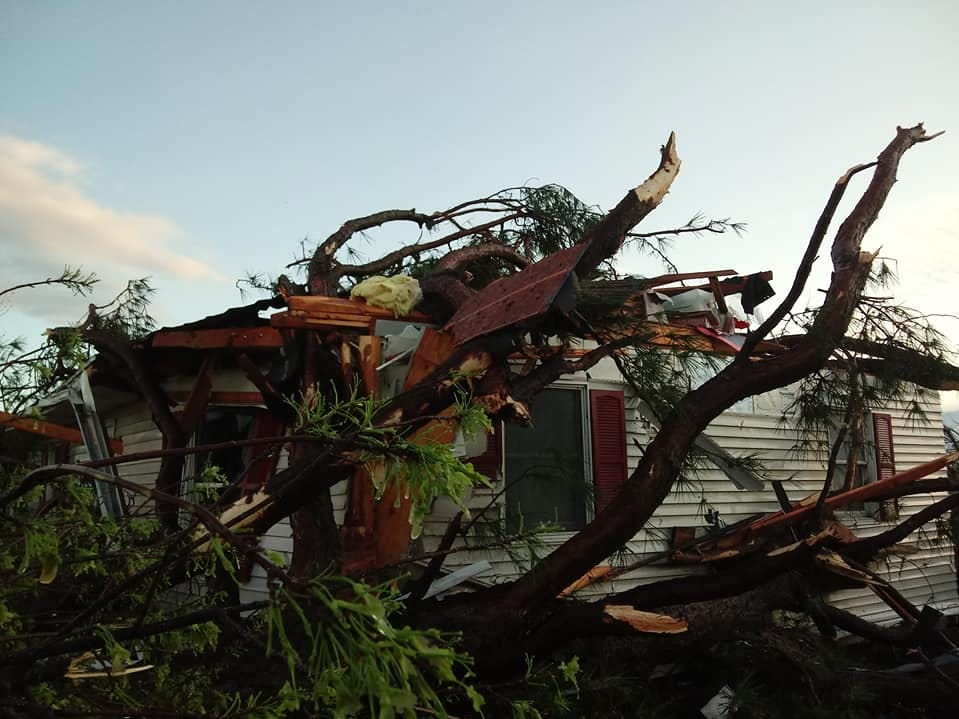 Storms do damage in Delaware, tornado touches down near Laurel