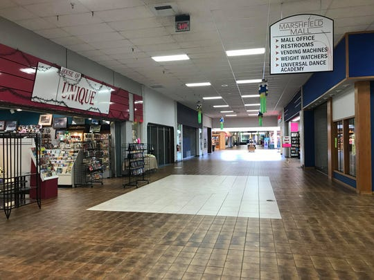 The inside of the Marshfield Mall, 503 E. Ives St.