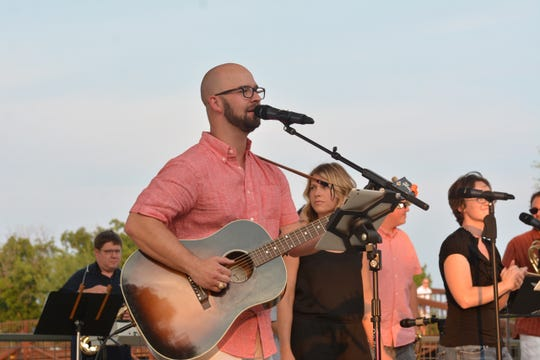 Ben Prater of Slab Rat at a previous Live at the Lake concert. The 2019 season opens with Cousin Fuzzy playing at Thursday 6:30 p.m. April 25 at the Wichita Falls Museum of Art at Midwestern State University.