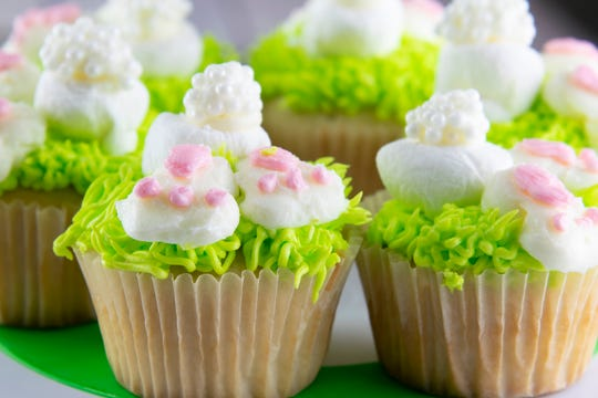 Bunny Butt cupcakes are a sweet treat for any Easter gathering.