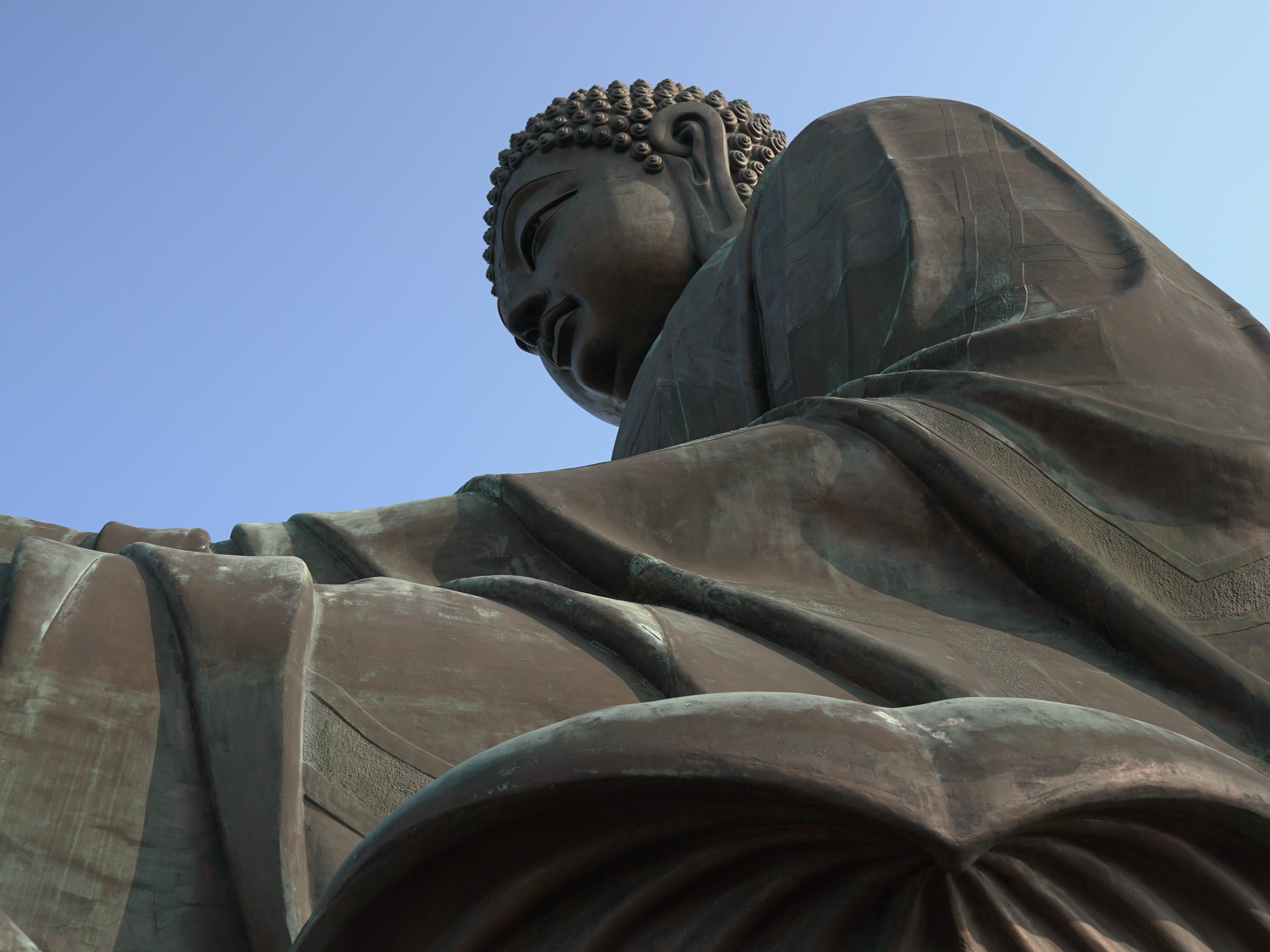 The Tian Tan Buddha.
