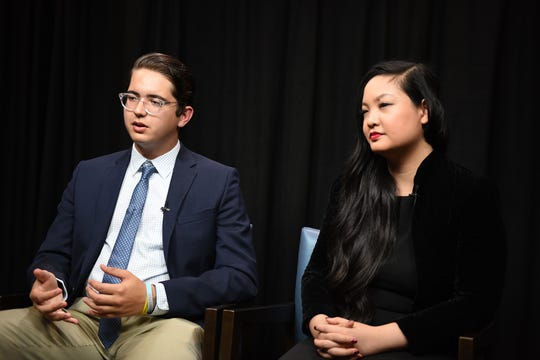 Amanda Nguyen, founder of Rise and person behind Sexual Assault Survivor's Bill of Rights, and Robert Schentrup, founder of ZeroUSA, discuss writing legislation