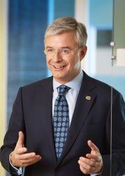 Hubert Joly, 59, is stepping down as CEO of Best Buy.