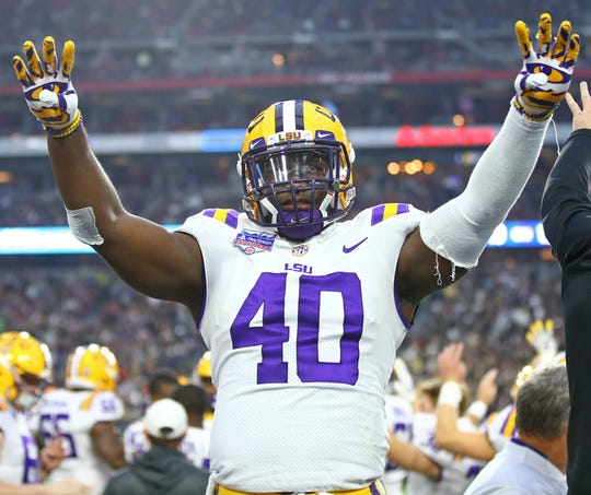 Most consider former North Webster star Devin White the best linebacker prospect for the 2019 NFL Draft.