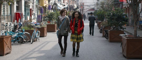 """A former cello prodigy (Allison Williams, left) befriends her teacher's star pupil (Logan Browning) in the Netflix horror thriller """"The Perfection."""" (May 24)"""