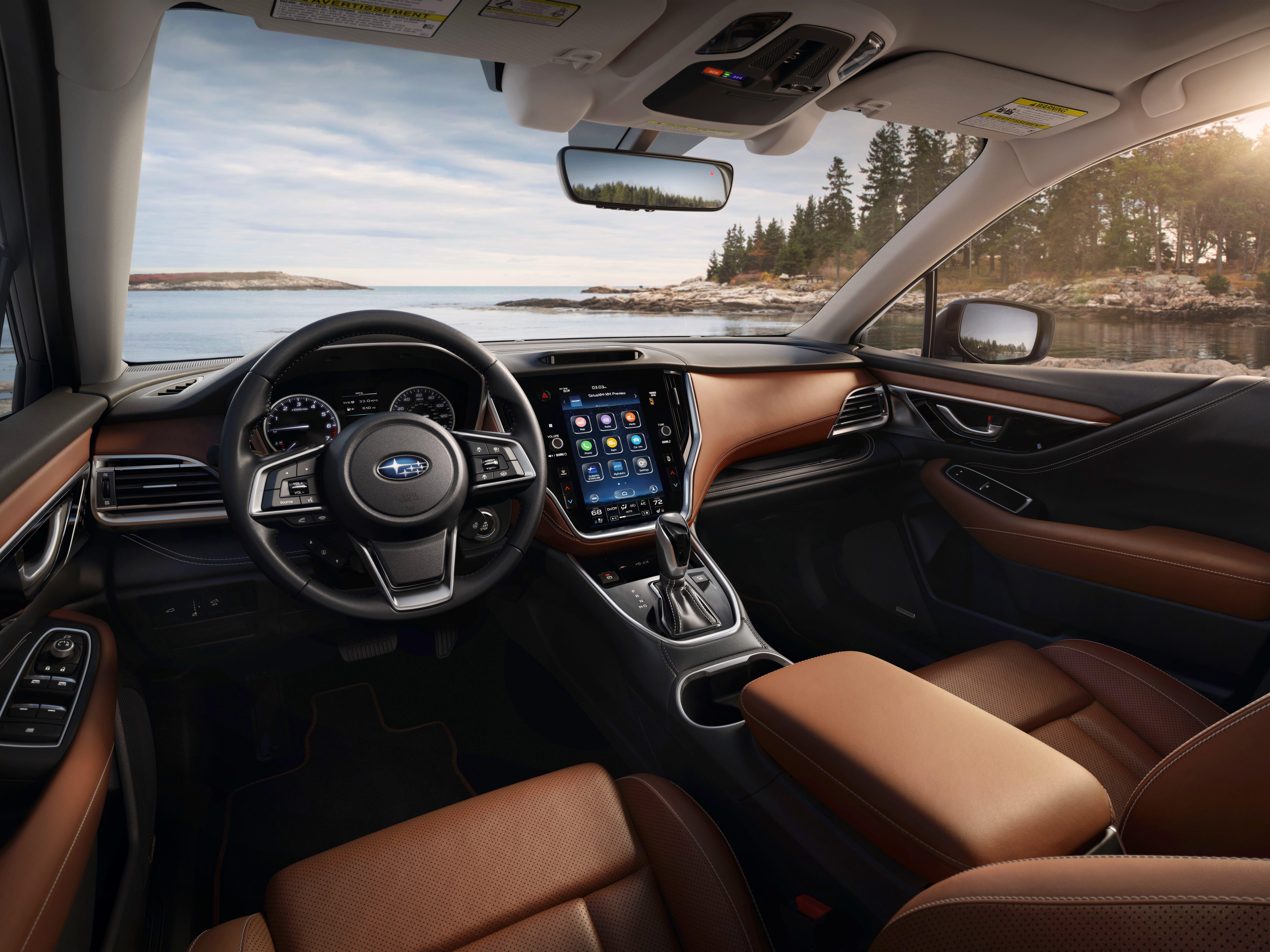 The 2020 Subaru Outback.