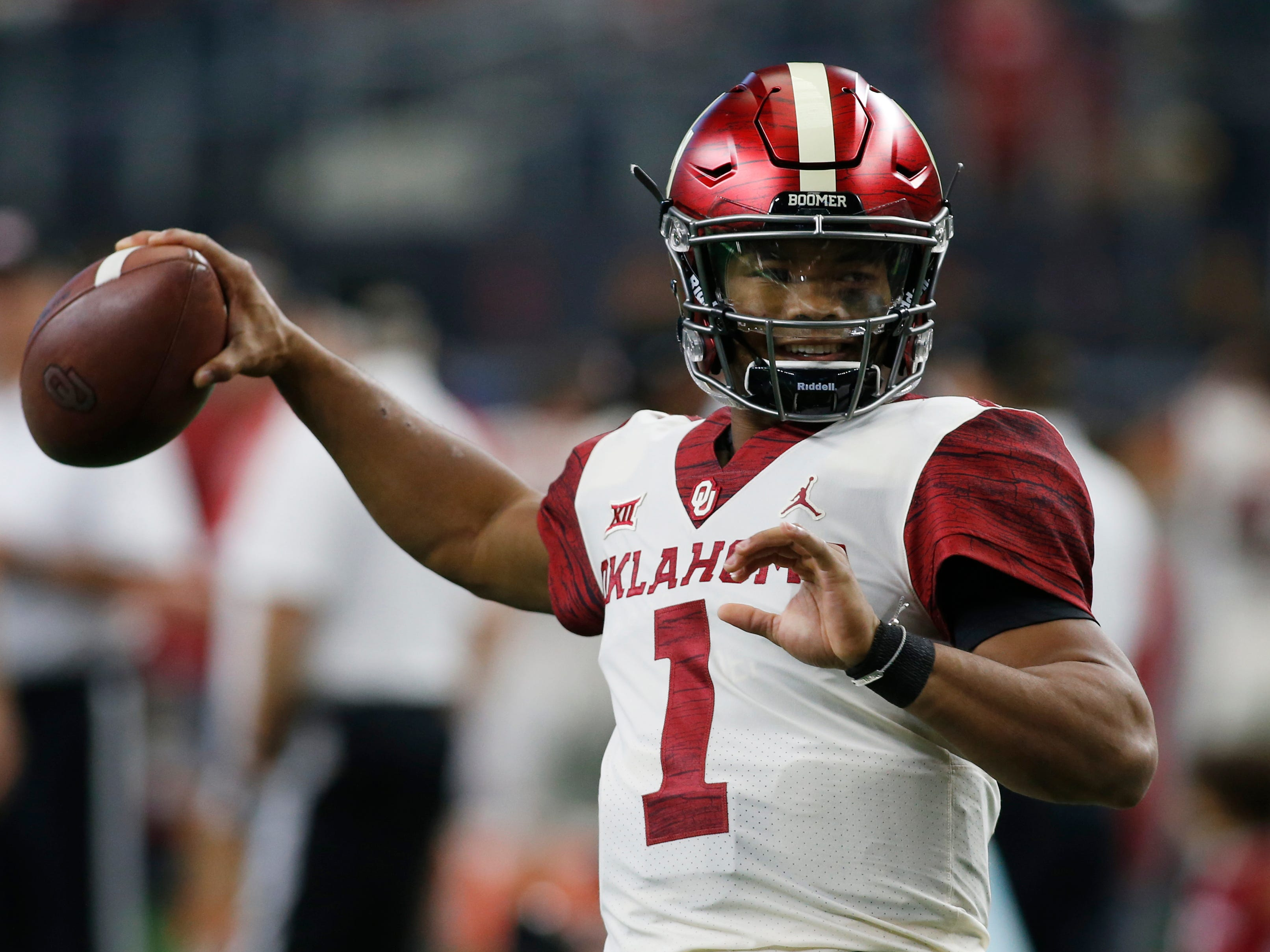12. Giants (from Packers) — Kyler Murray, QB, Oklahoma