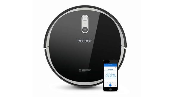 The Deebot 711 will learn the layout of your home and make its cleaning route as efficient as possible.