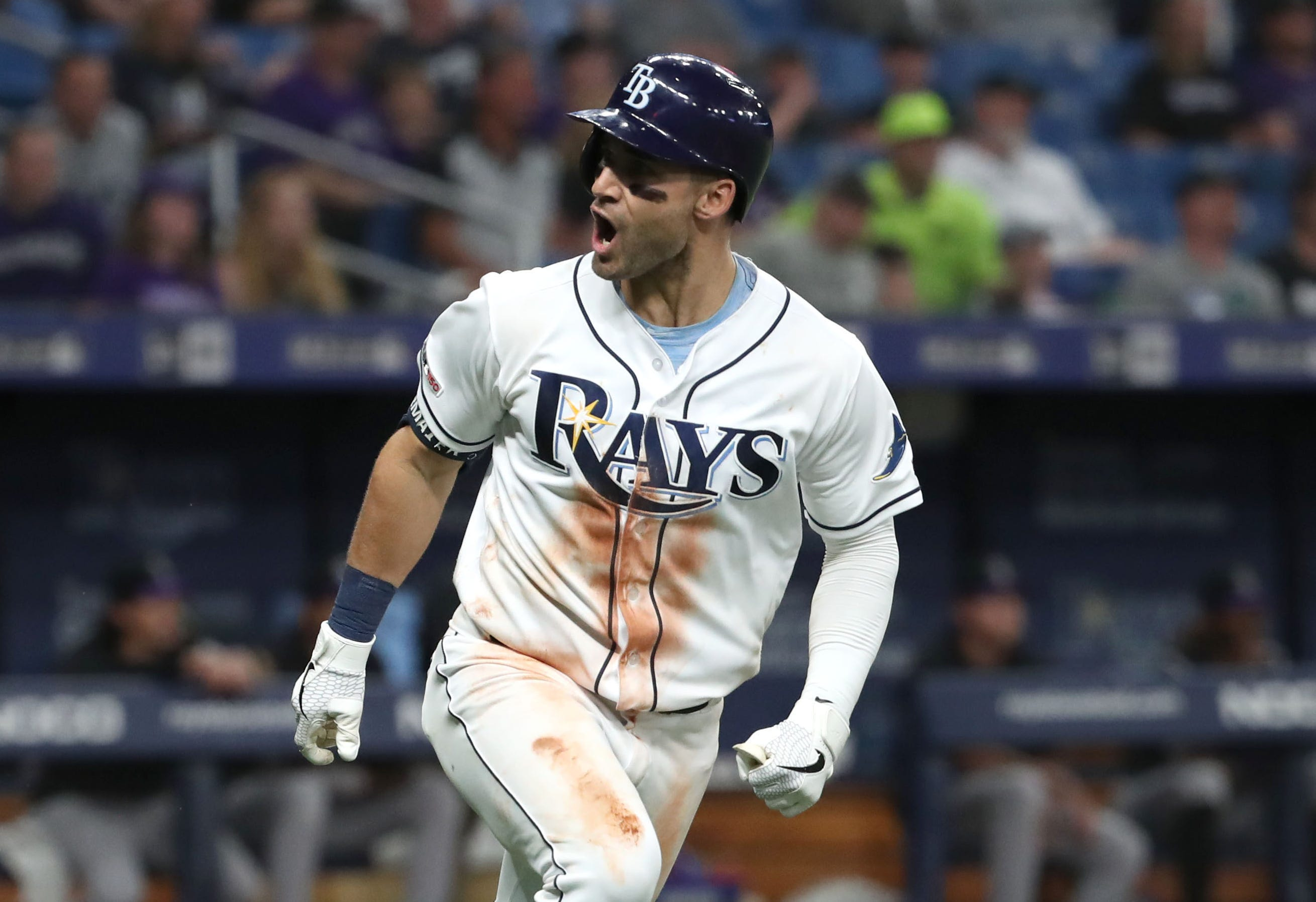 Kevin Kiermaier has gotten off to a hot start.