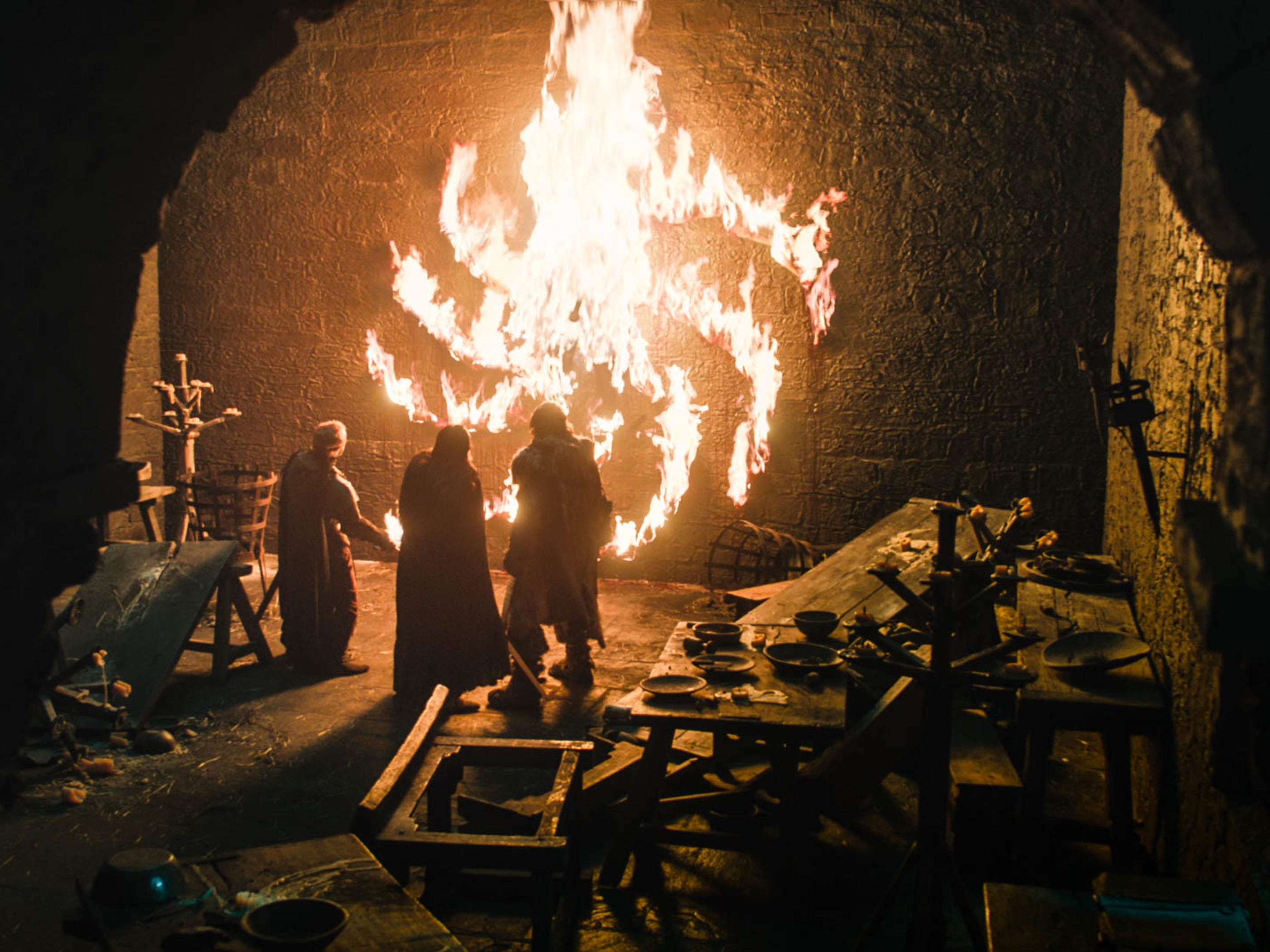 The Night King uses Ned Umber to send a message.