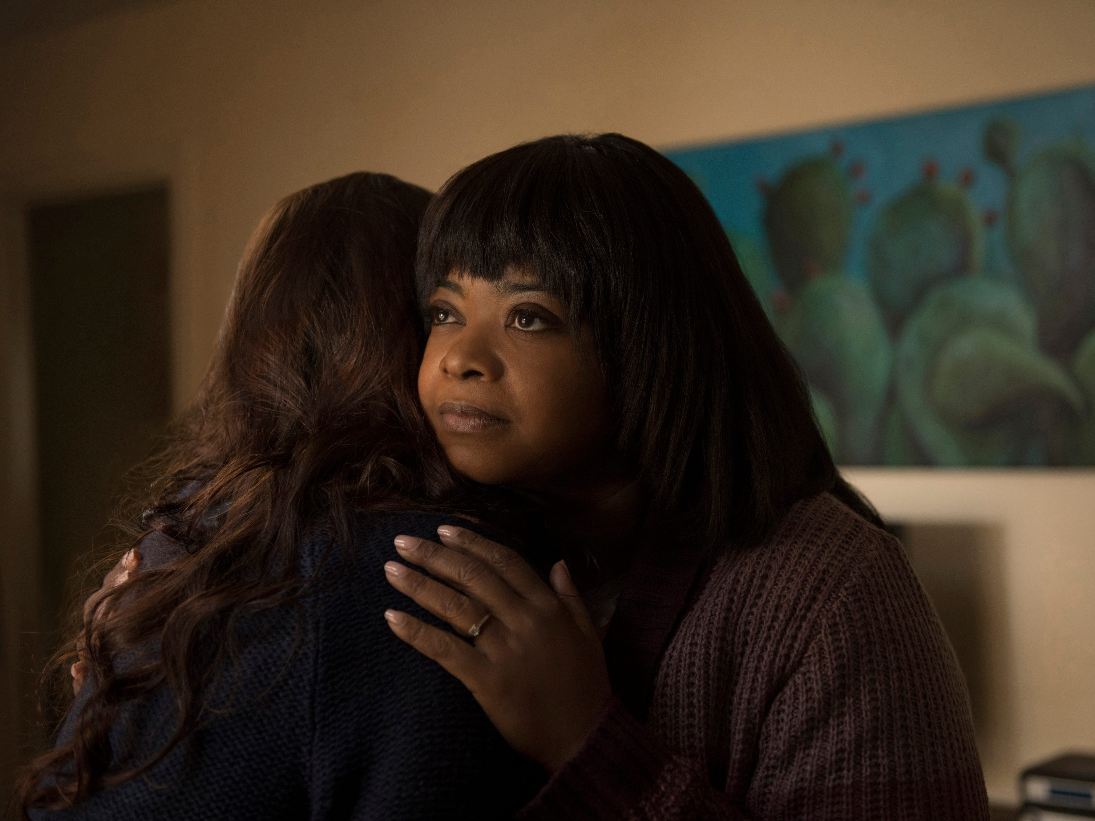 "Octavia Spencer plays a loner who takes a strangely obsessive interest in the local teens she lets party at her house in the thriller ""Ma."" (May 31)"