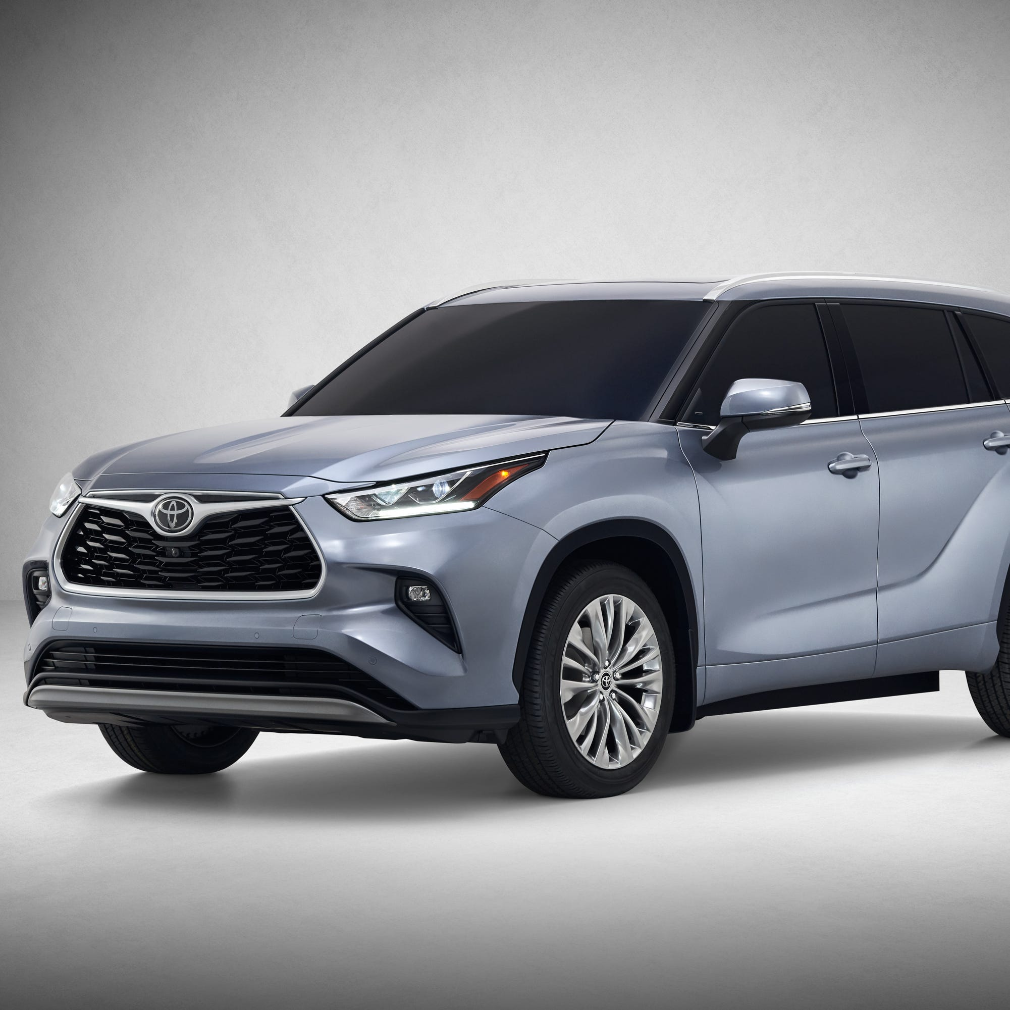 The 2020 Toyota Highlander.