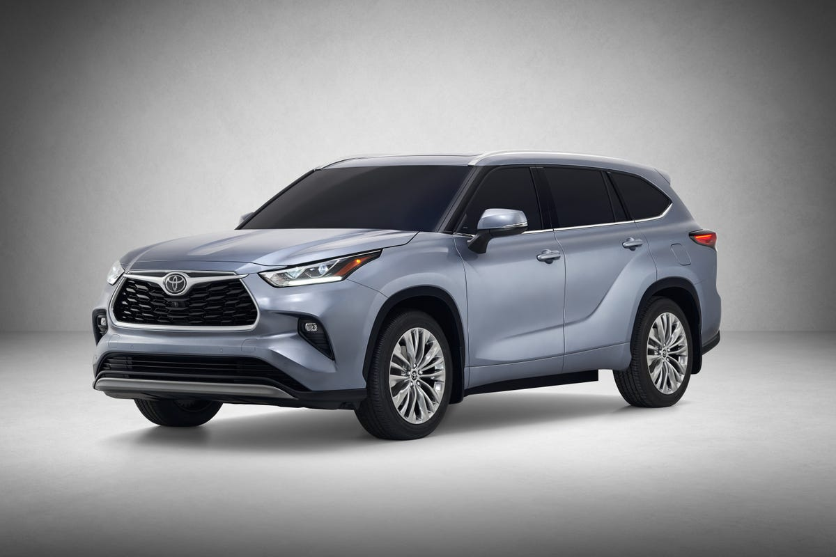 New York Auto Show vehicle debuts: Toyota Highlander redesigned