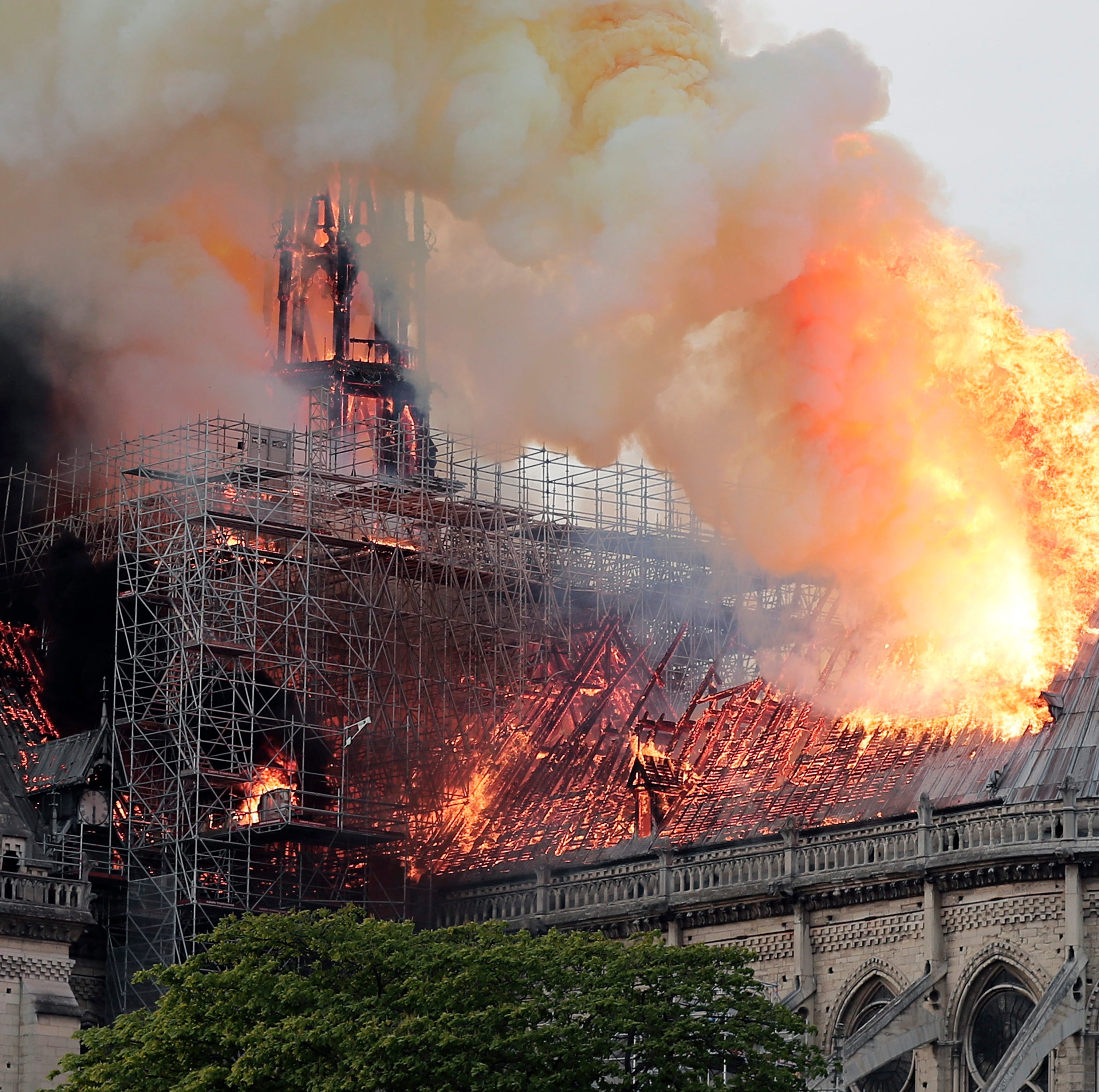 Indianapolis couple in Paris as Notre Dame cathedral burns: 'The ashes fell like tears'