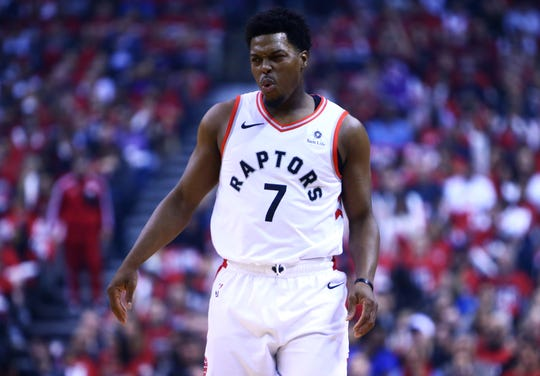 Kyle Lowry of the Toronto Raptors.