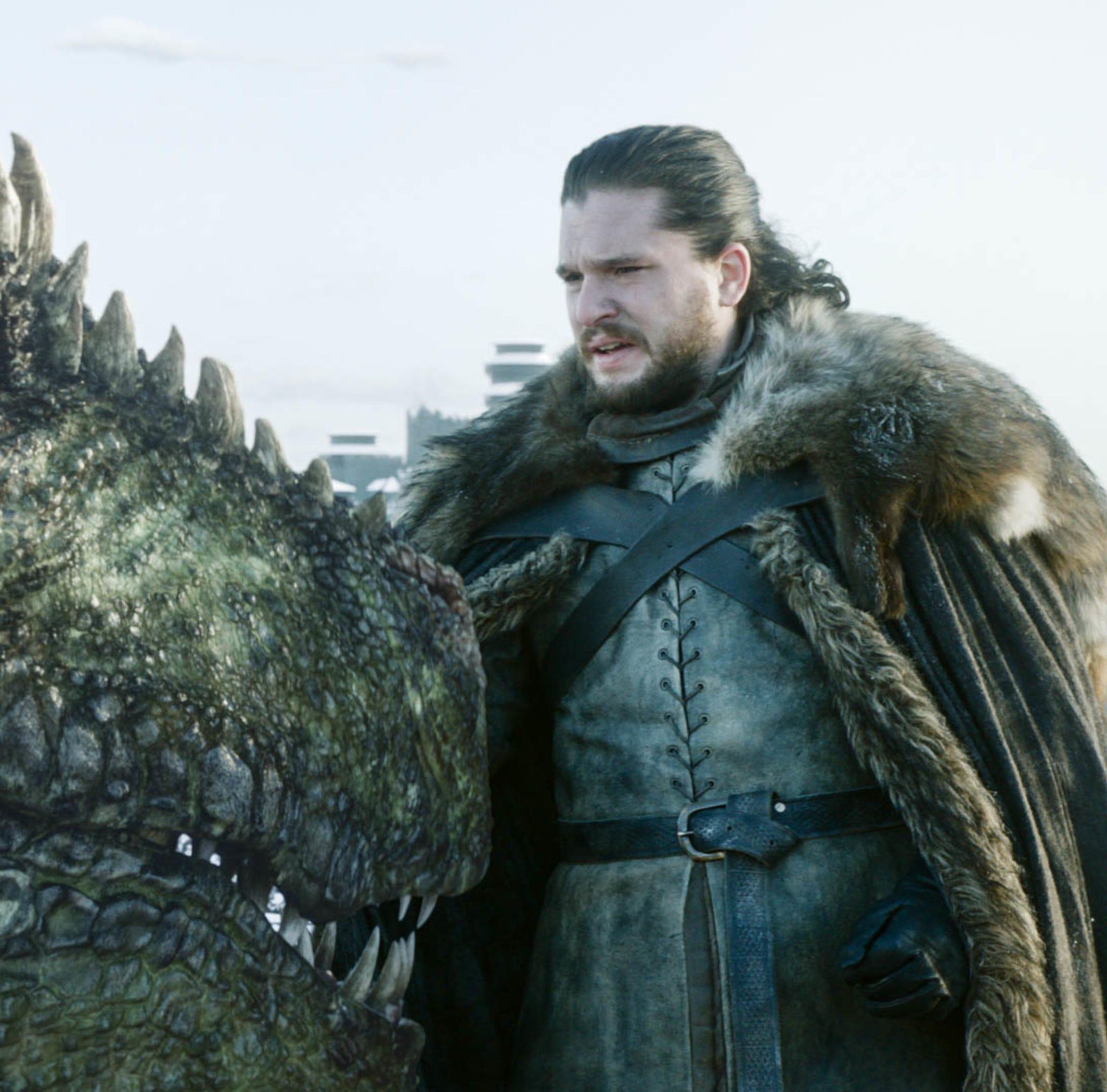 "Kit Harington on ""Game of Thrones."""