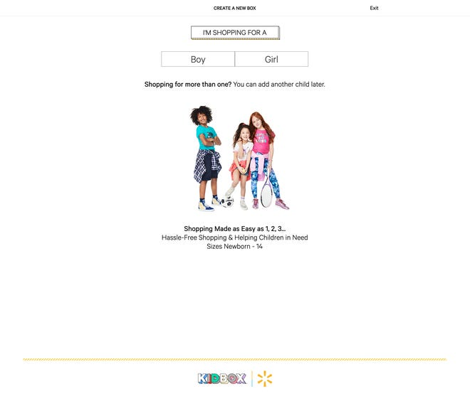 Walmart is debuting a new subscription service for kids clothing starting Tuesday.