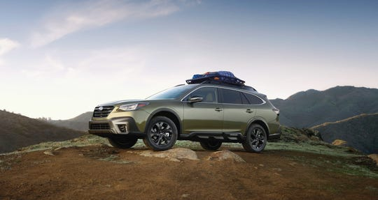 The 2020 Subaru Outback.