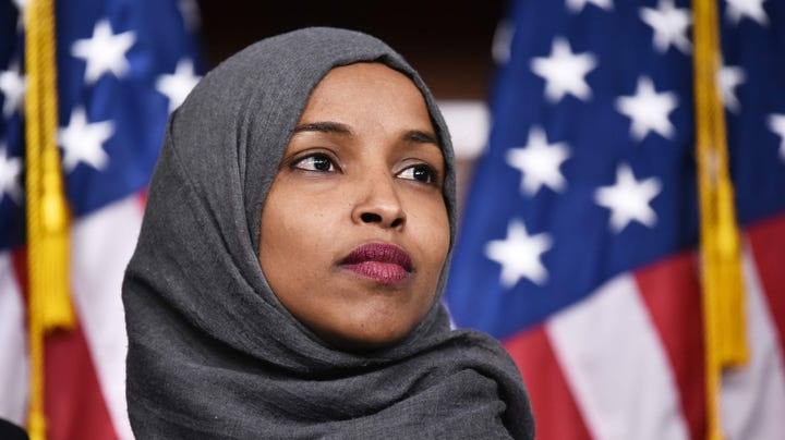 Letter: Fear, not racism, behind resentment of Rep. Ilhan Omar