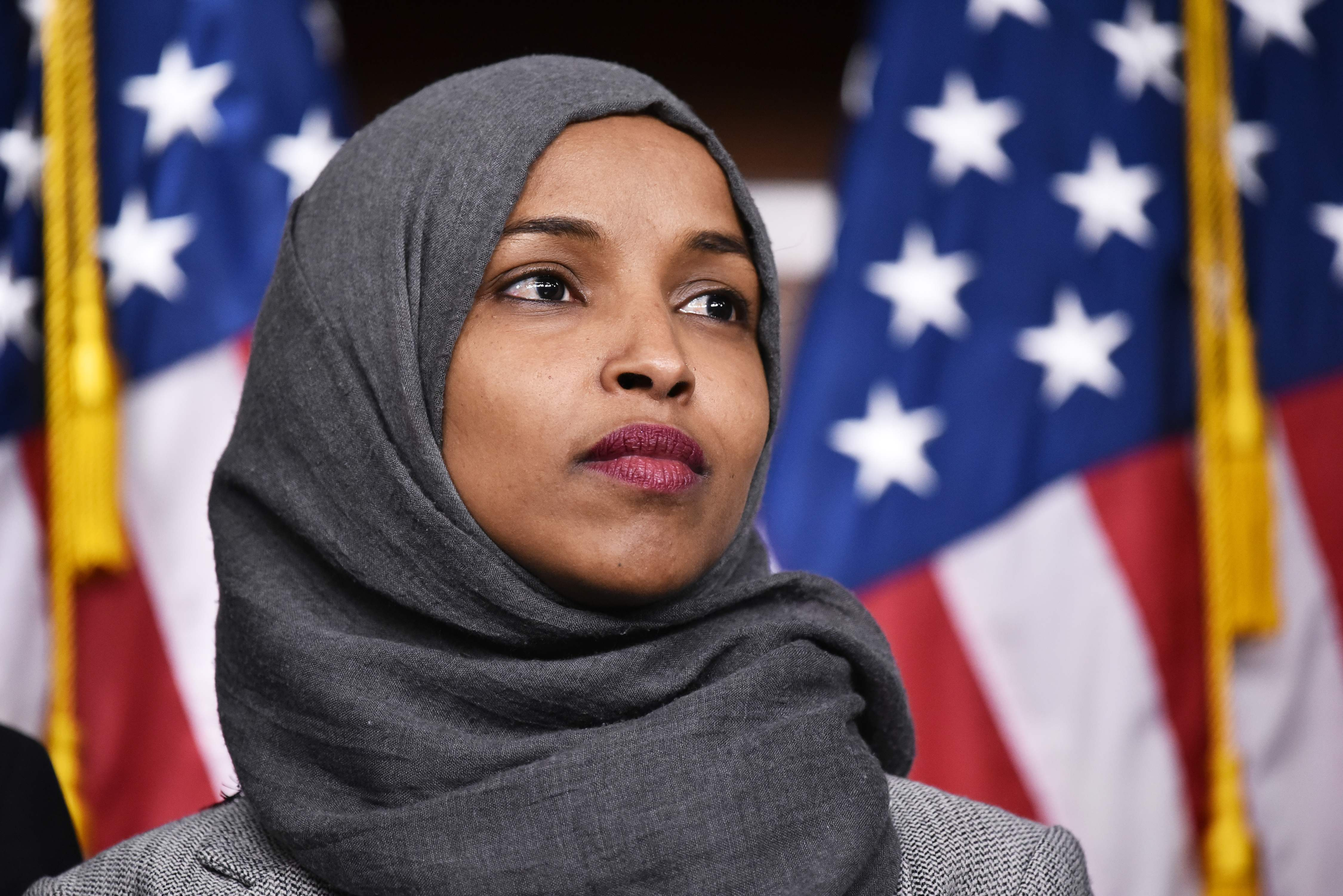rep  ilhan omar  who is the muslim lawmaker donald trump