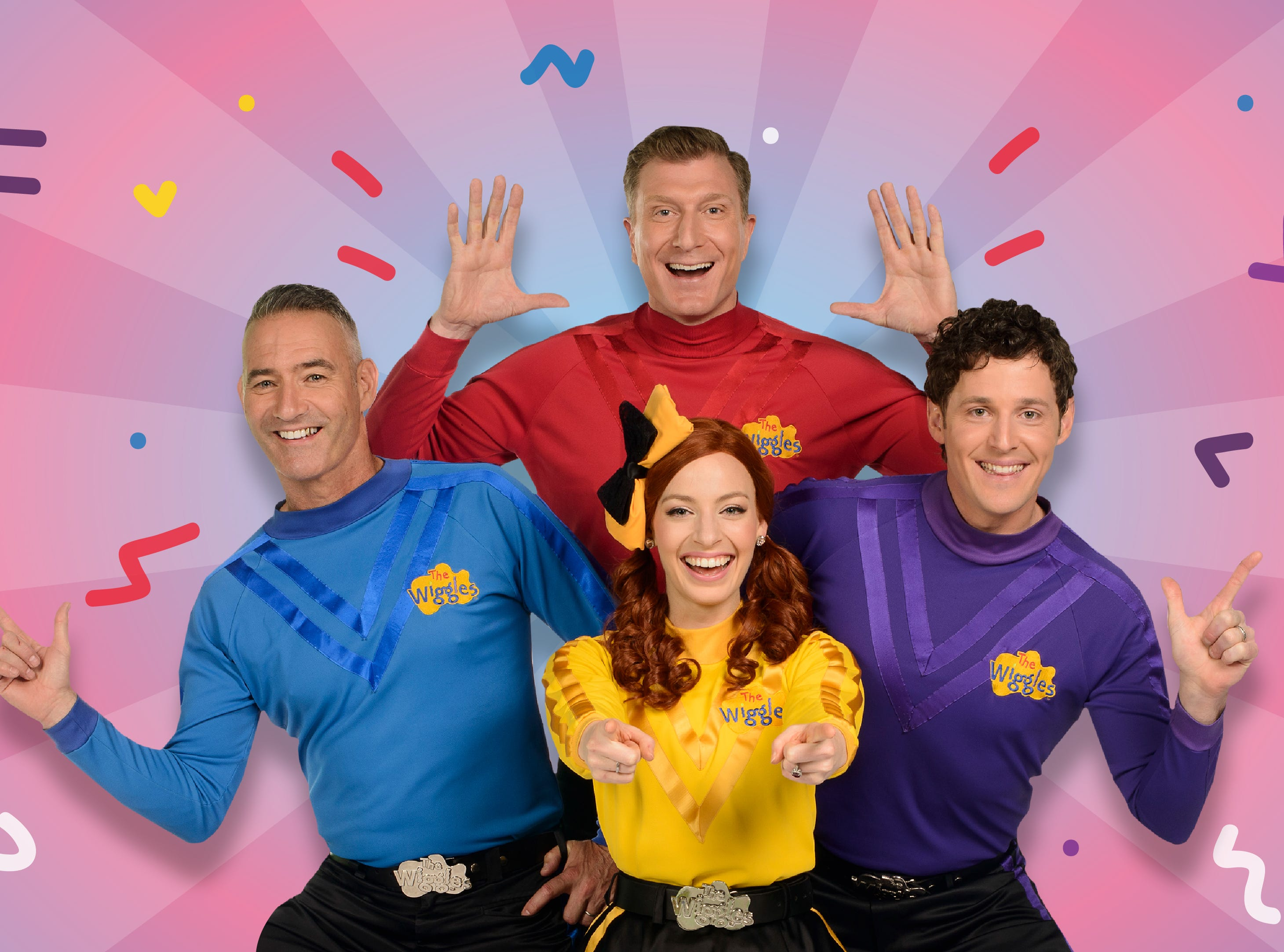 'The Wiggles' are back! The children's music group is touring the US this summer