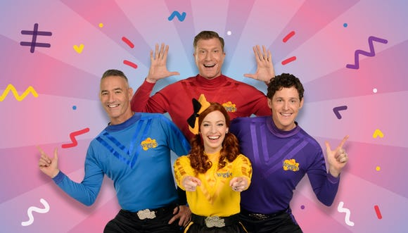 """""""The Wiggles"""" are touring the U.S. this summer, its biggest U.S. tour in six years."""