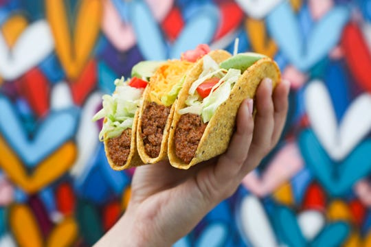 Del Taco is releasing its new Beyond Taco and Beyond Avocado Taco April 25. Both include a plant-based meat developed with Beyond Meat.