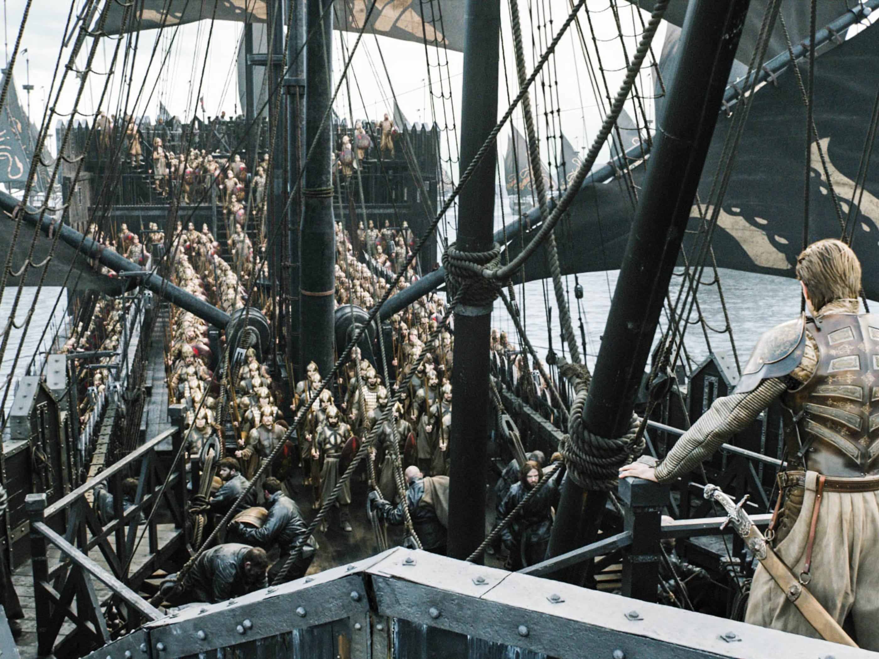 Troops arrive at King's Landing