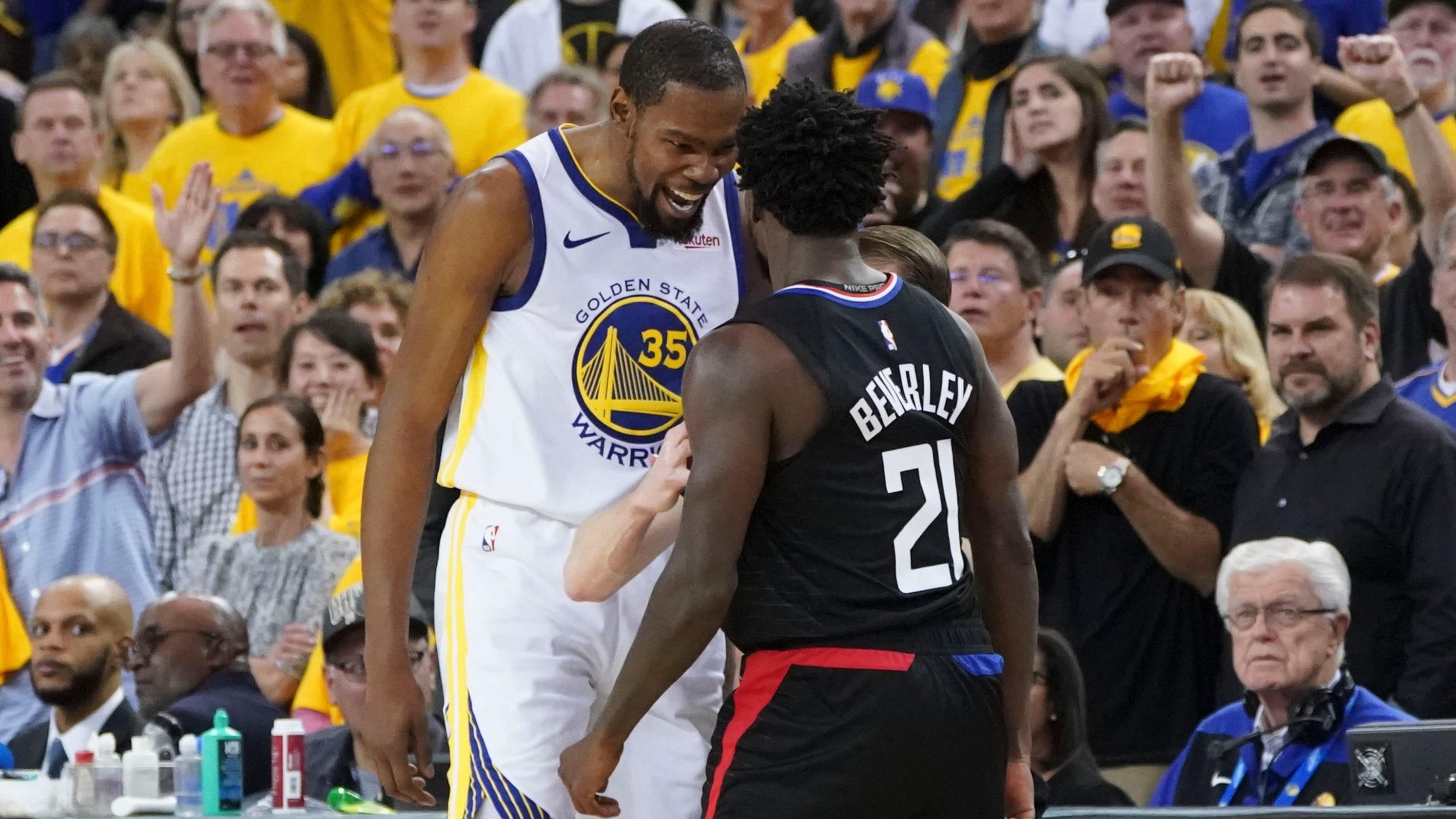 eb66bdf39991 NBA playoffs  Why Warriors  Durant is heading for a suspension
