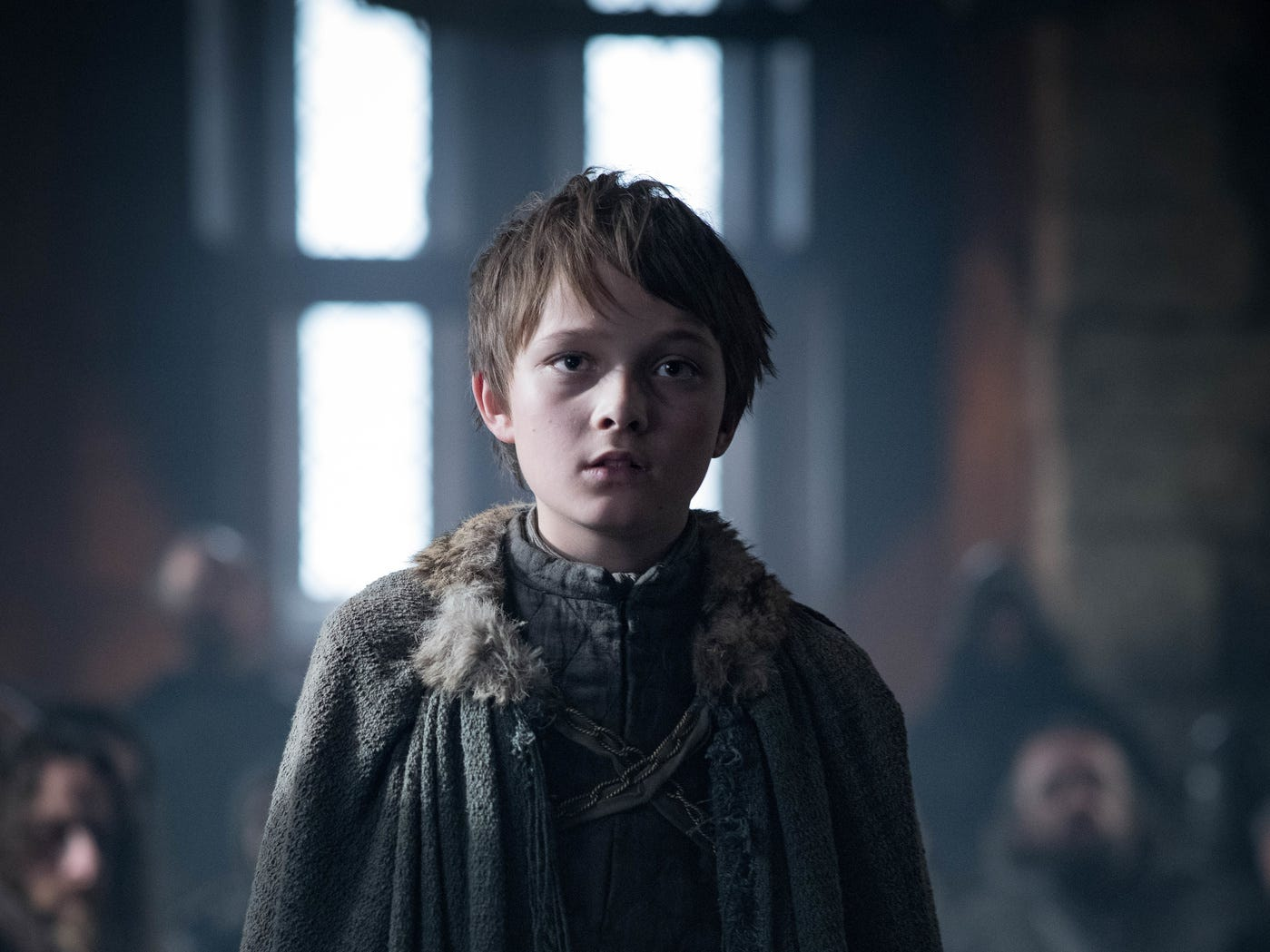 Ned Umber (Harry Grasby) at Winterfell.