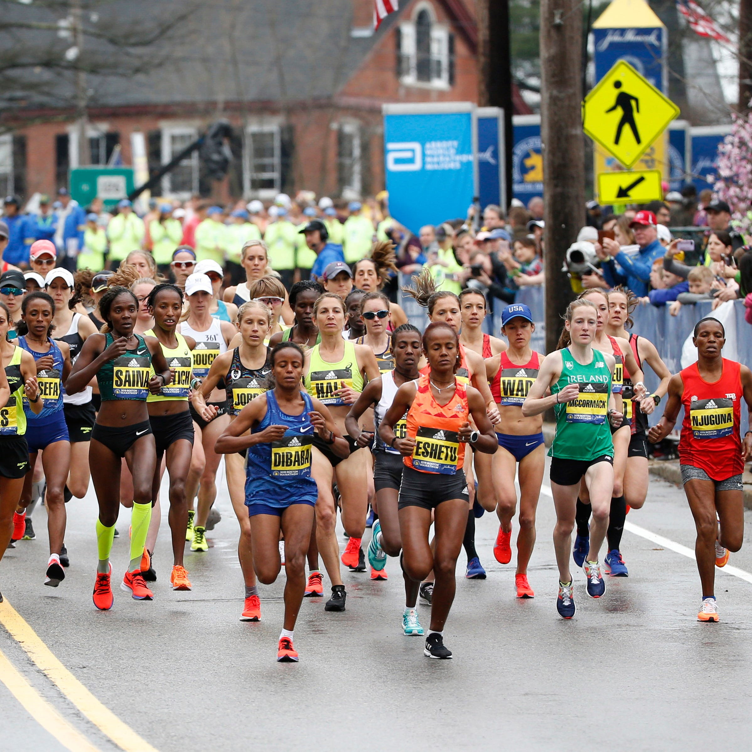 Vermont finishers at the 2019 Boston Marathon