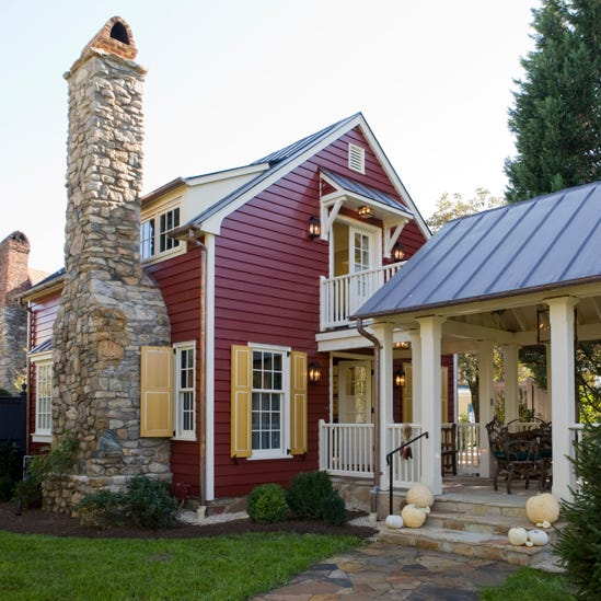 The Gamekeepers Cottage at the Inn at Little Washington in Washington, Virginia.