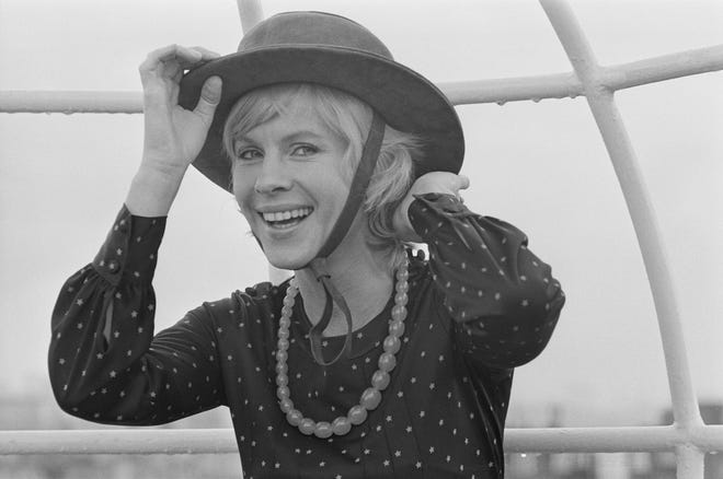 Swedish actress Bibi Andersson, photographed in 1971, has died.