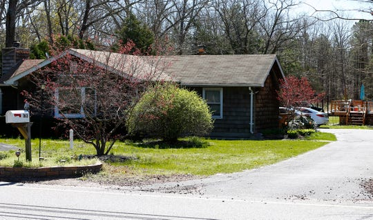 A home at 163 Jackson Mills Road in Jackson Township is shown Tuesday, April 16, 2019.   The man who owns this  is alledgedly involved in a sprawling drug operation that involved money laundering through Bitcoin.