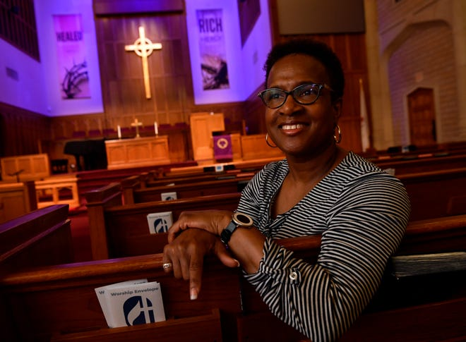 Felicia Hopkins, senior pastor at St. Paul United Methodist Church, will be preaching her last Easter sermons before taking a new role in Methodist church administration this summer.