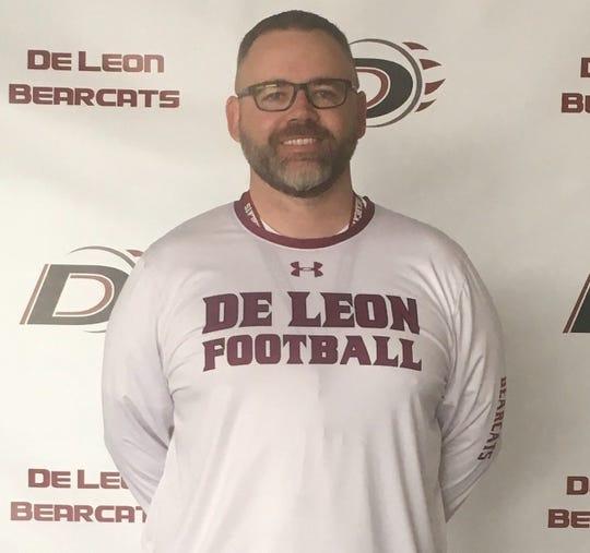 Head football coach/athletic director Andy Dickson