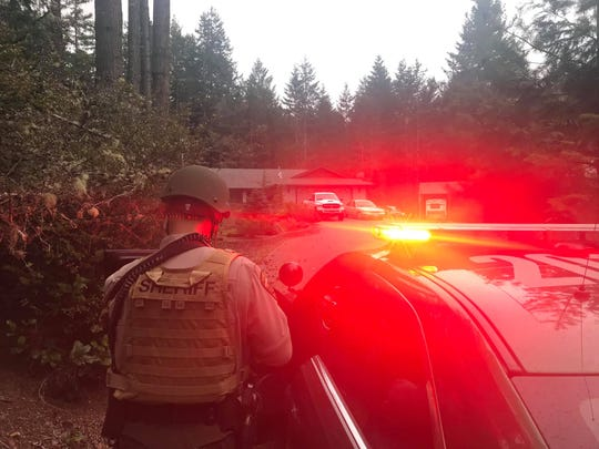 A four-hour stand-off with an armed man in South Kitsap ended without injuries on Monday.