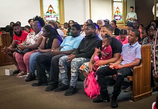 Families and friends of homicide victims gathered at The REAL Church in Cocoa to support children who have lost parents to violent crime.