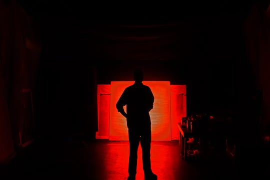"""""""Red,"""" will be presented April 19 through April 28 Upstairs at the Henegar."""