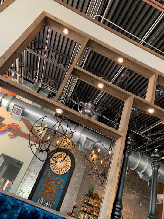 28 North Gastropub in Viera has a hip, steampunk-evoking decor.