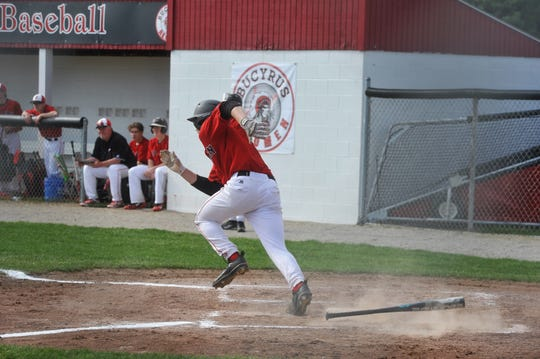Lincoln Mollenkopf is one of four players returning next year for the Redmen.