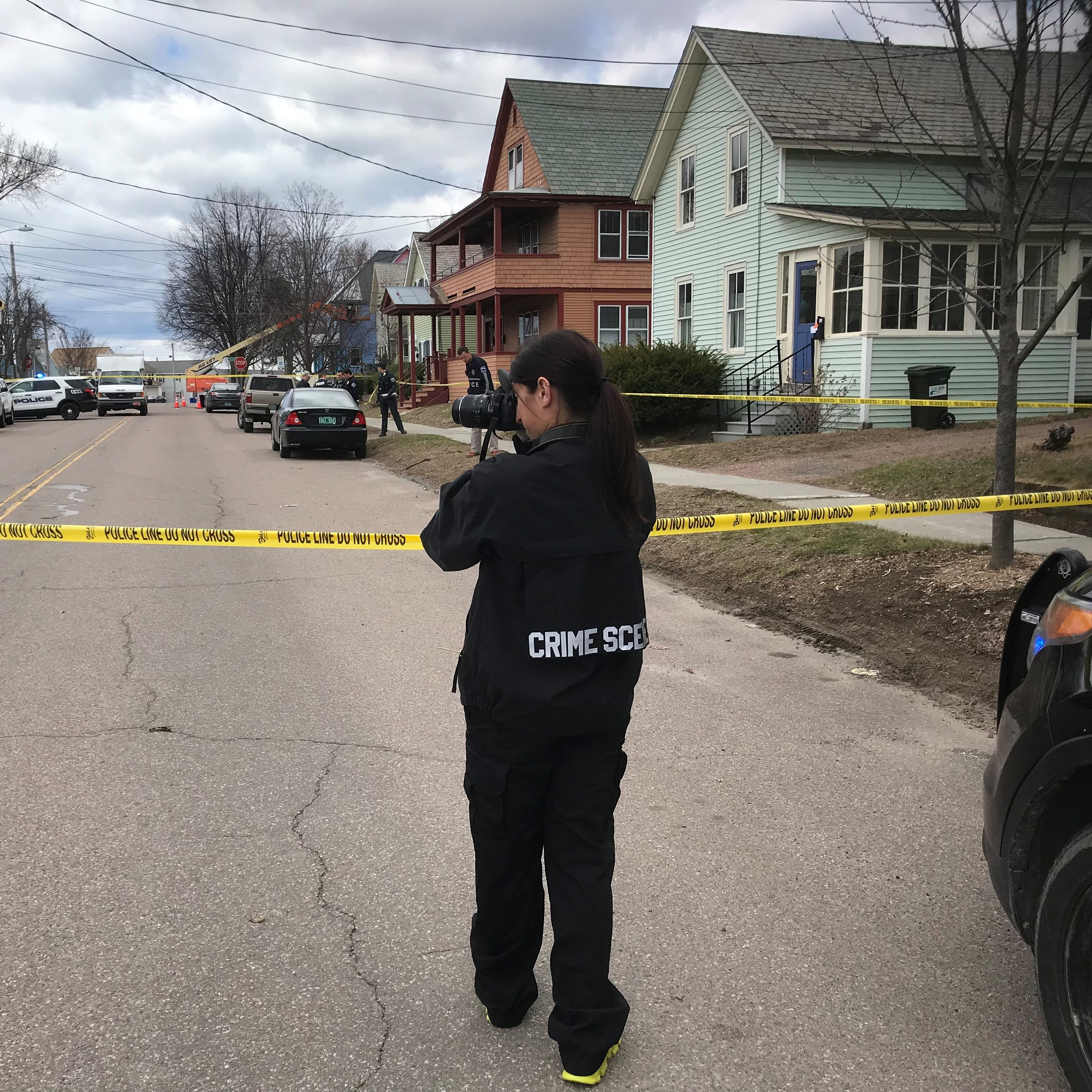 Burlington police on the scene of shooting incident in Old North End
