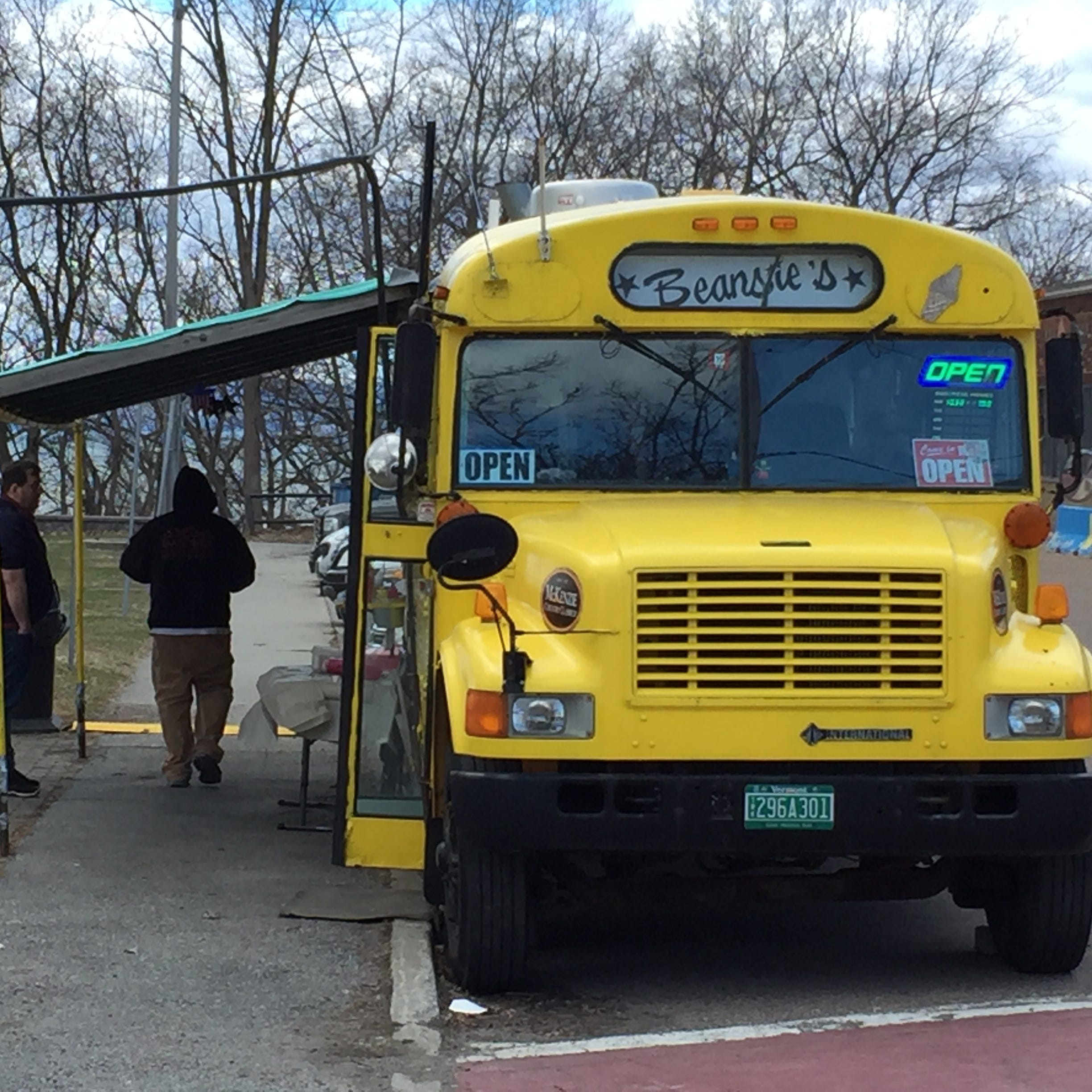 The bus is back: Beansie's returns to Battery Park to mark its 75th anniversary