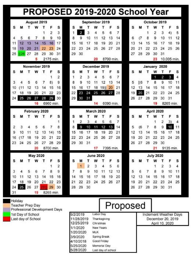 Ccisd Calendar 2020-2021 Corpus Christi ISD 2019 2020 calendar: What you need to know