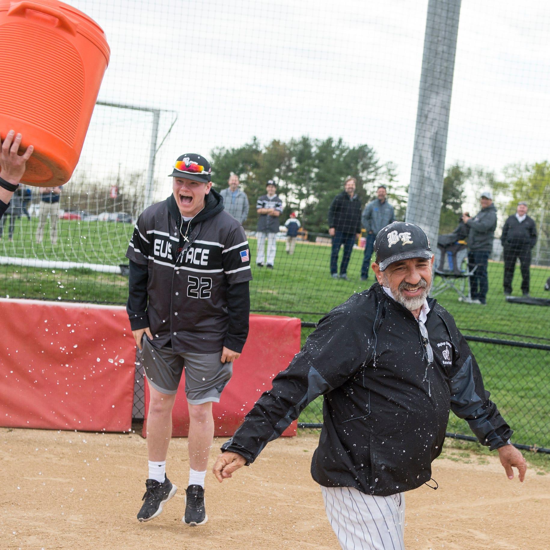 Baseball: Sam Tropiano sets South Jersey wins record as Bishop Eustace beats Lenape