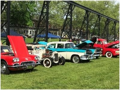 Antique cars and trucks will be on display April 27 at the Roebling Museum grounds once part of a steel mill in the historic village of Roebling, Florence Township