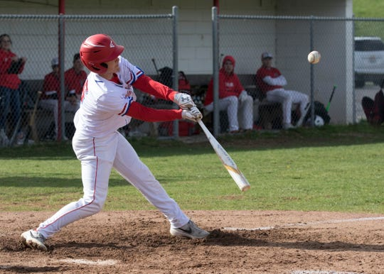 Zane Trace defeated Westfall 6-3 to tie with Unioto for the number one spot in the SVC Monday night at Zane Trace High School.