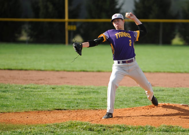 Unioto baseball's Cameron DeBord is nominated for the Gazette's athlete of the week as he threw a no-hitter in a 10-0 win over Paint Valley on April 22.