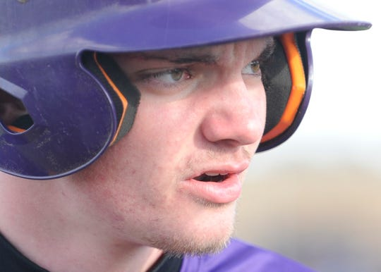 Unioto High School baseball's Jeremy Lambert won the male award after earning the win on the mound, not allowing a run, and striking out 13 batters in Unioto's 9-0 win over Huntington on April 17th.